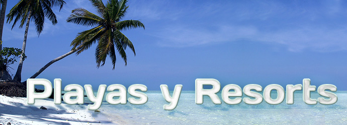 Turismo y viajes a playas y resorts