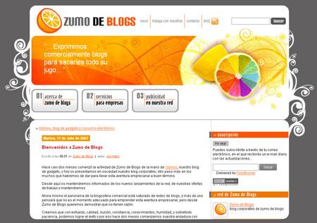 Zumo de Blogs
