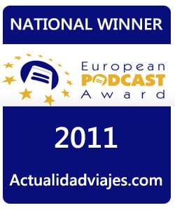 primer premio de podcasta en europa European podcasta award
