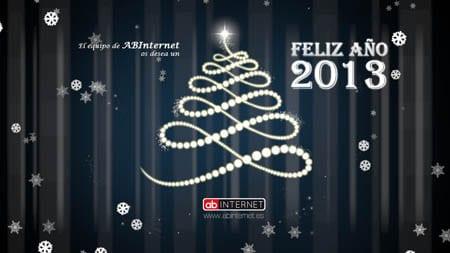 Felicitación de Navidad y año nuevo 2013 de Actualidad Blog
