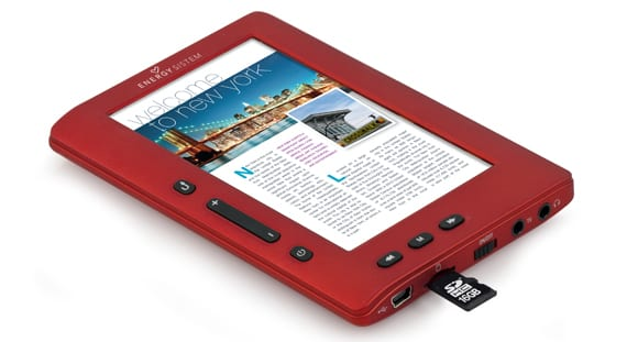 ereader energy mp5 colorbook 3048 Sorteo nuevo eReader Energy MP5
