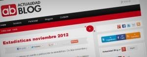 Nuevo diseño en Actualidad Blog