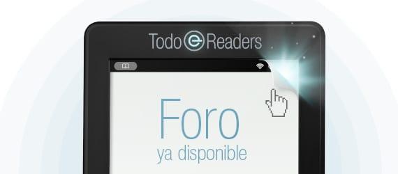 foros dedicado a los lectores electrónicos, ebooks y edición digital
