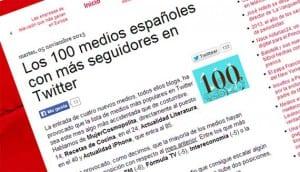 ranking de medios españles en twitter entramos en el top100